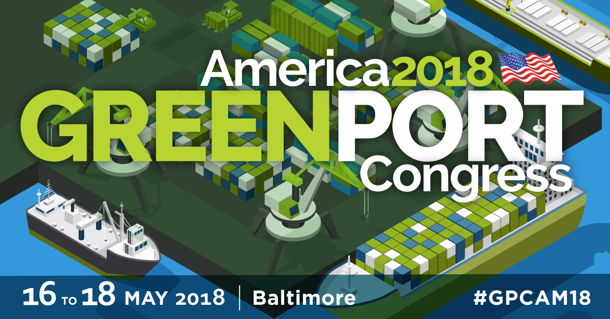 GreenPort Congress America May 16-18 2018 in Baltimore #GPCA18