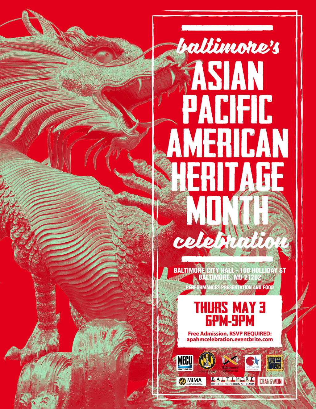 Baltimore's 2018 Asian Pacific American Heritage Month celebration