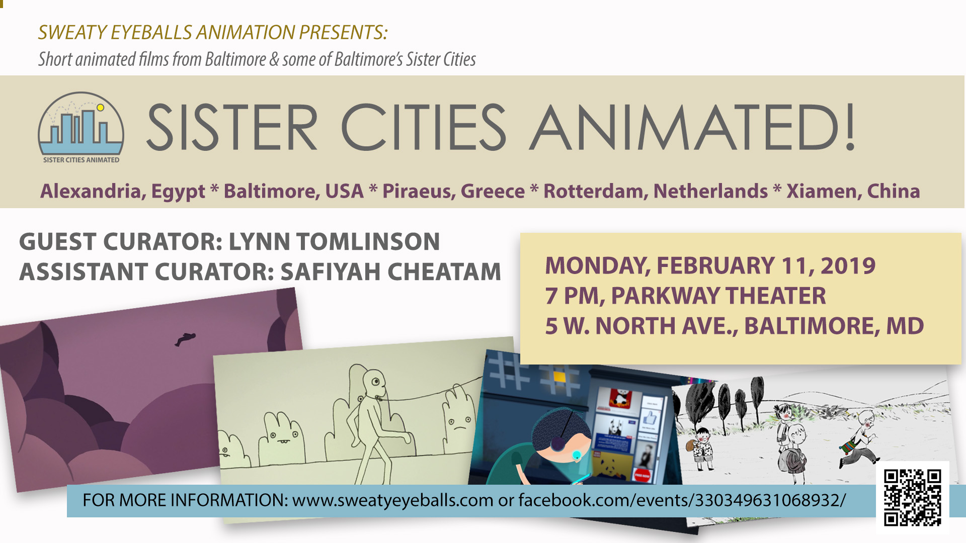 Sister Cities Animated Flyer